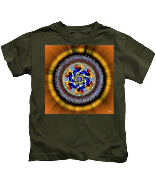 Sacred Geometry 740 Number 1 Kids T-Shirt