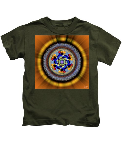 Sacred Geometry 740 Number 1 Kids T-Shirt