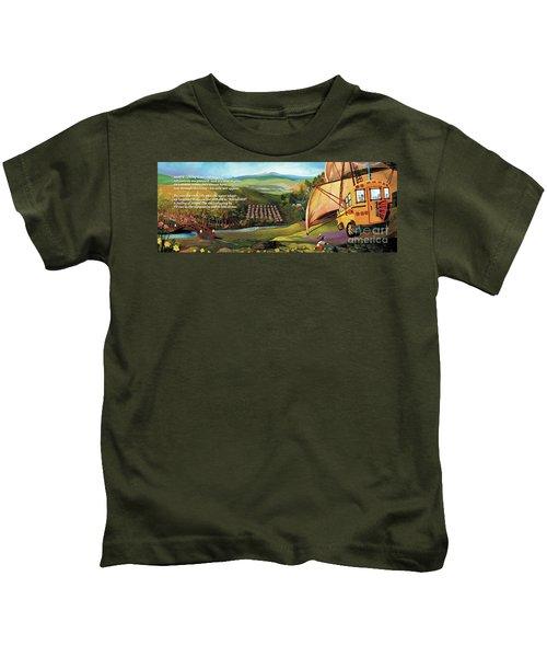 Sailbus Flight Home Kids T-Shirt