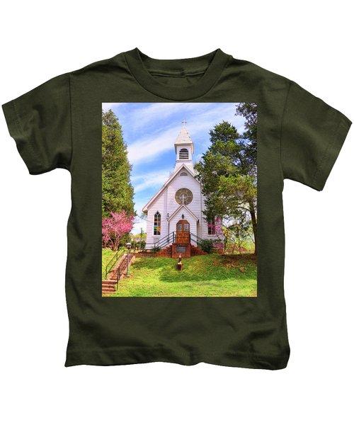Saint Joseph Roman Catholic Church In Columbia Virginia Kids T-Shirt