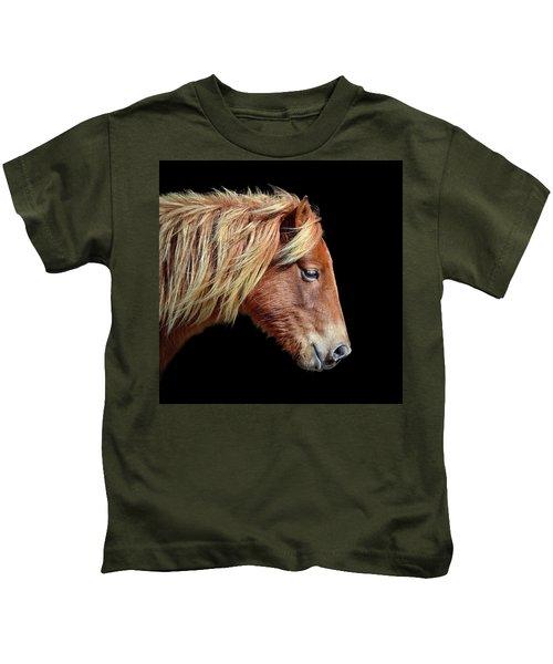 Sarah's Sweat Tea Portrait Kids T-Shirt