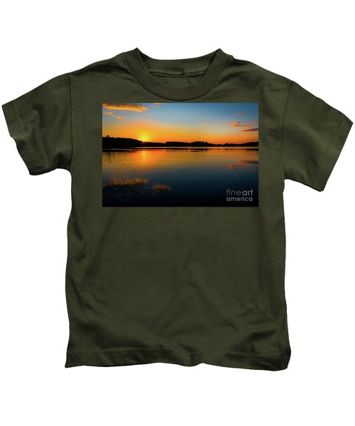 Savannah River Sunrise - Augusta Ga Kids T-Shirt