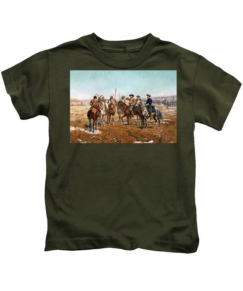 Sheridan's Campaign Custer's Demand Kids T-Shirt