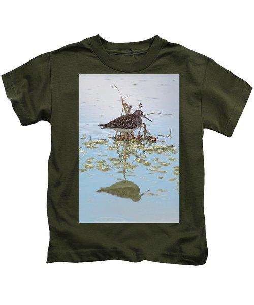 Shorebird Reflection Kids T-Shirt