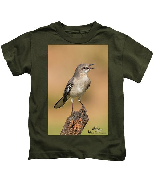 Singing Mockingbird Kids T-Shirt