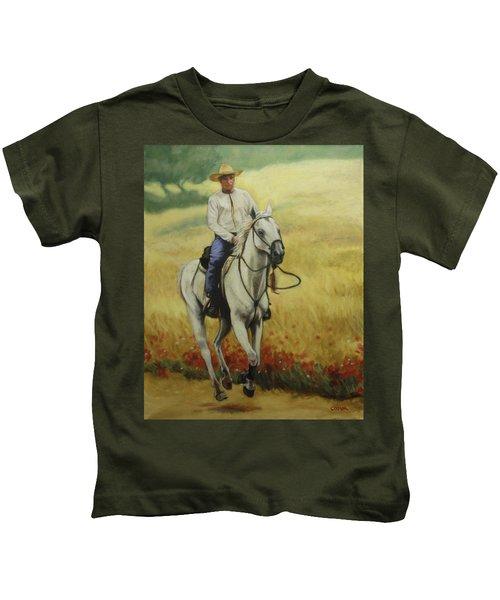 Six Feet Off The Ground Kids T-Shirt