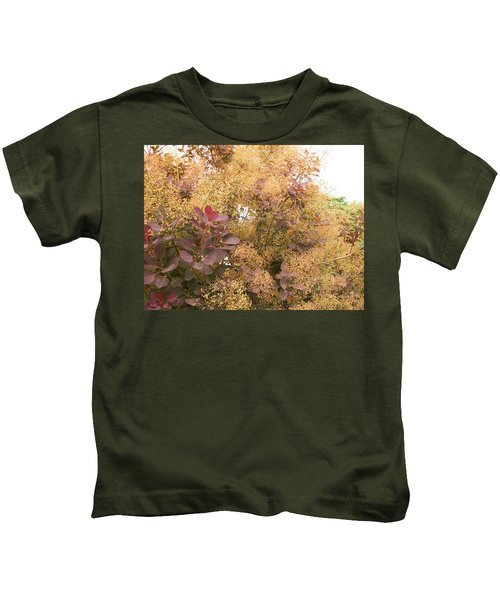 Smoke Bush  Kids T-Shirt