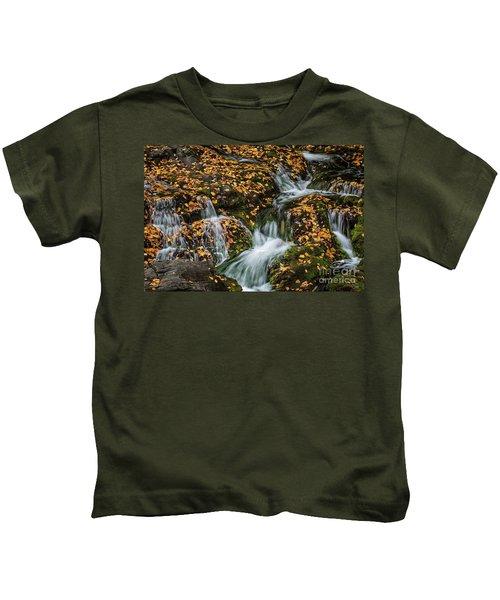 Smokey Mountain Falls Kids T-Shirt
