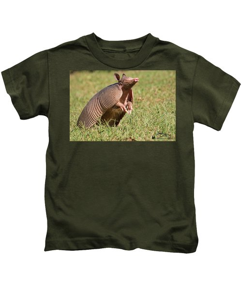 Sniffing The Air Kids T-Shirt