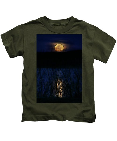 Snow Moon Kids T-Shirt