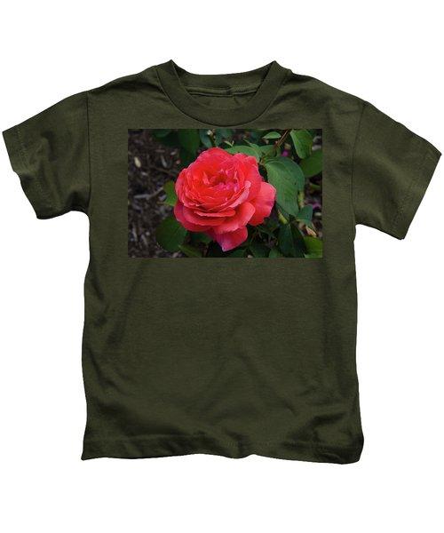 Solitary Rose Kids T-Shirt