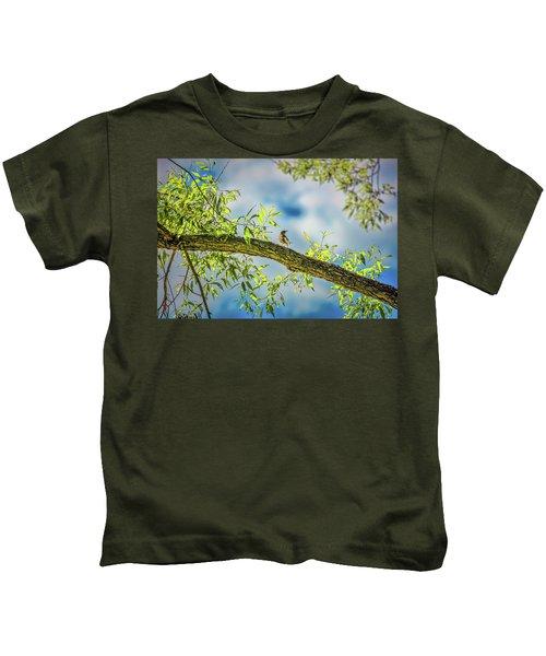 Someone Coming? #i2 Kids T-Shirt