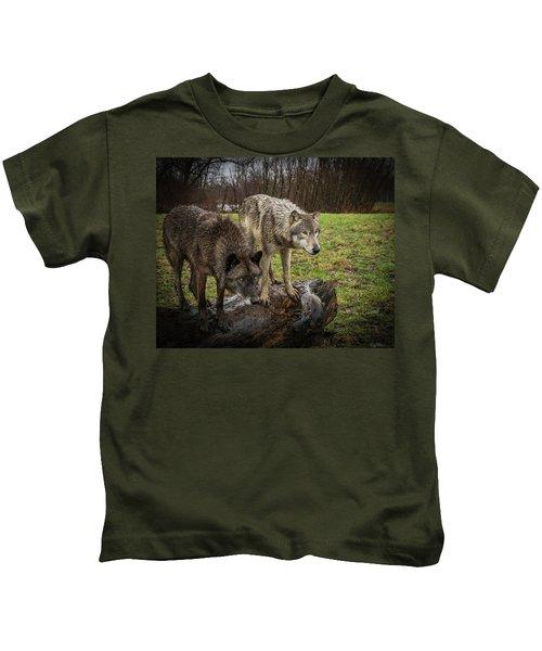 Sort Of Twins Kids T-Shirt