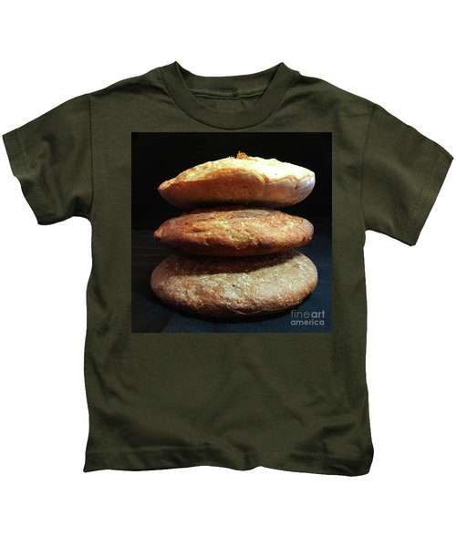 Sourdough Bread Stack 1 Kids T-Shirt