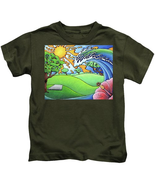 South Texas Disc Golf Kids T-Shirt
