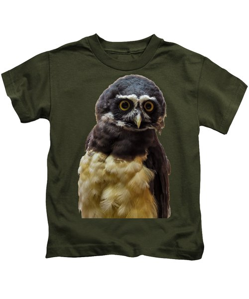 Spectacled Owl Kids T-Shirt