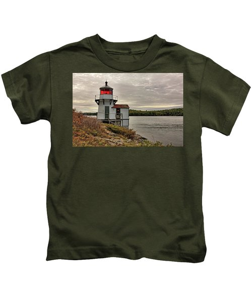 Squirrel Point Light Kids T-Shirt