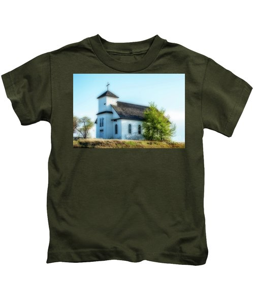 St. Agnes. Church Kids T-Shirt