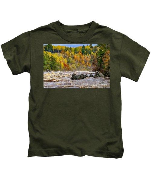 St. Louis River At Jay Cooke Kids T-Shirt