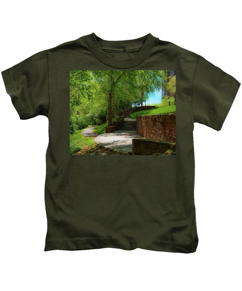 Stairway To Carlyle Kids T-Shirt