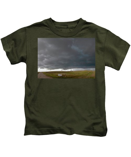 Storm Chasin In Nader Alley 016 Kids T-Shirt