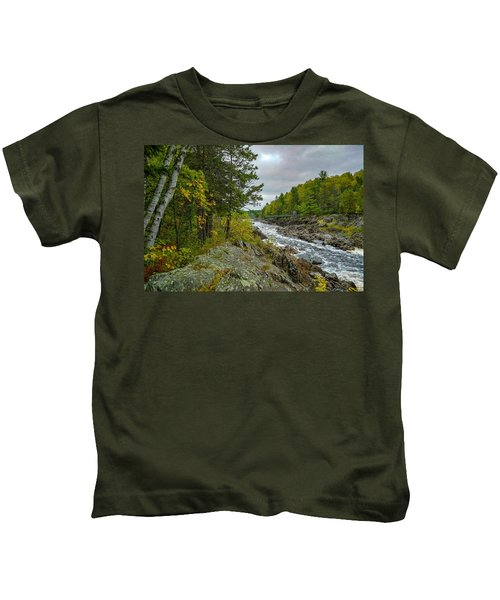 Storm Clouds At Jay Cooke Kids T-Shirt