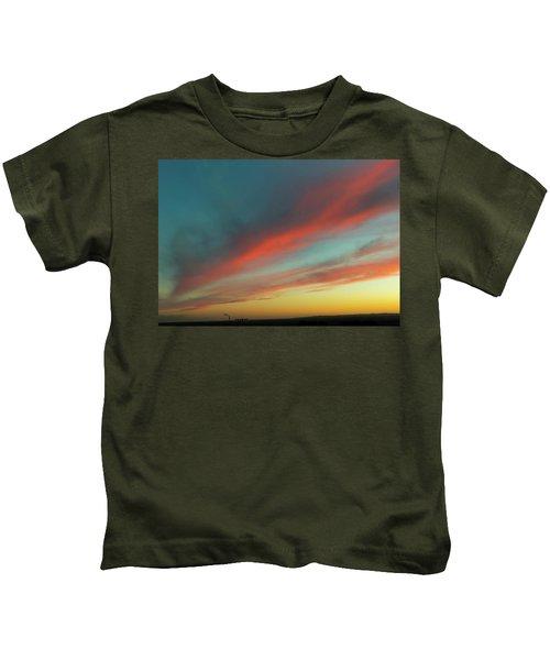 Streaming Sunset Kids T-Shirt