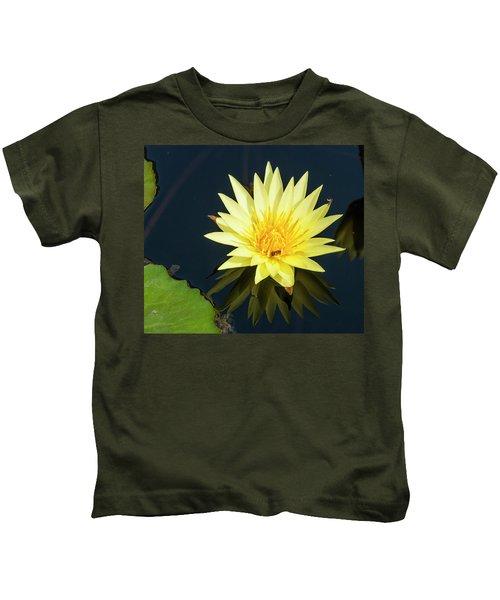 Stunning In Yellow Kids T-Shirt