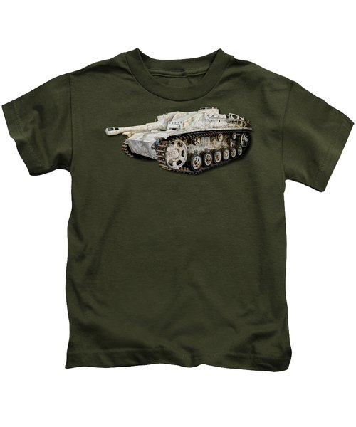 Sturmhaubitze 42 - Stuh 42 Canvas Kids T-Shirt