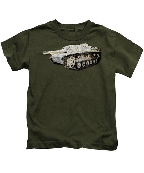Sturmhaubitze 42 - Stuh 42 Map Kids T-Shirt