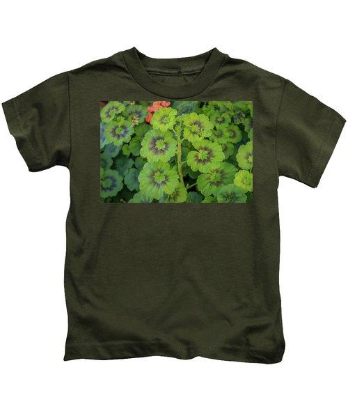 Summer Leaves Kids T-Shirt