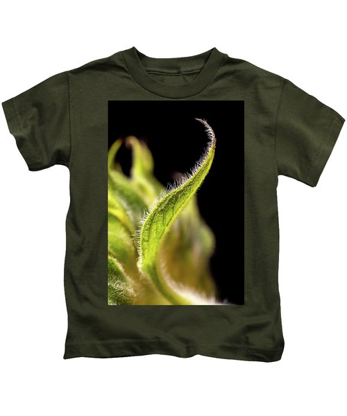 Sunflower Leaf Kids T-Shirt