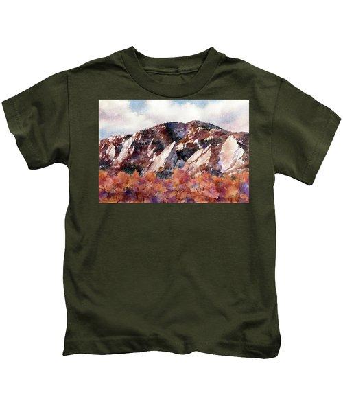 Sunrise Splendor Kids T-Shirt