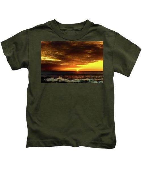 Sunset And Surf Kids T-Shirt