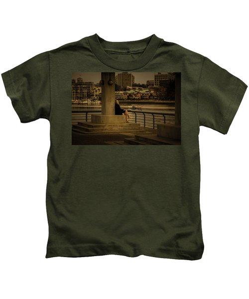 Sunset Enjoyment Kids T-Shirt