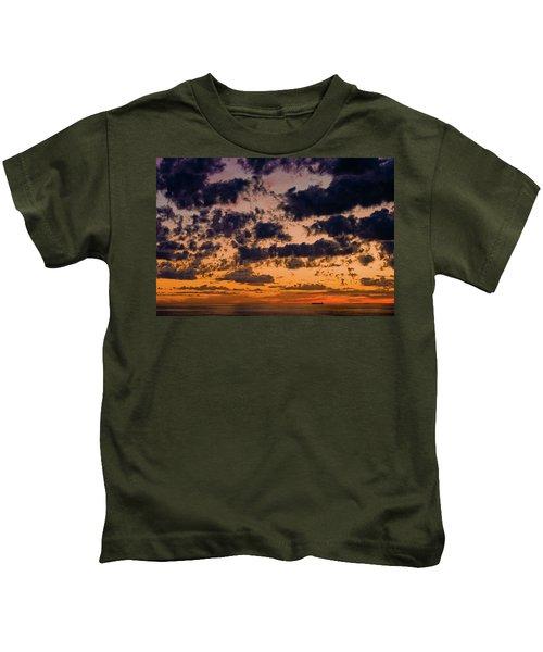 Sunset Over The Indian Ocean Kids T-Shirt