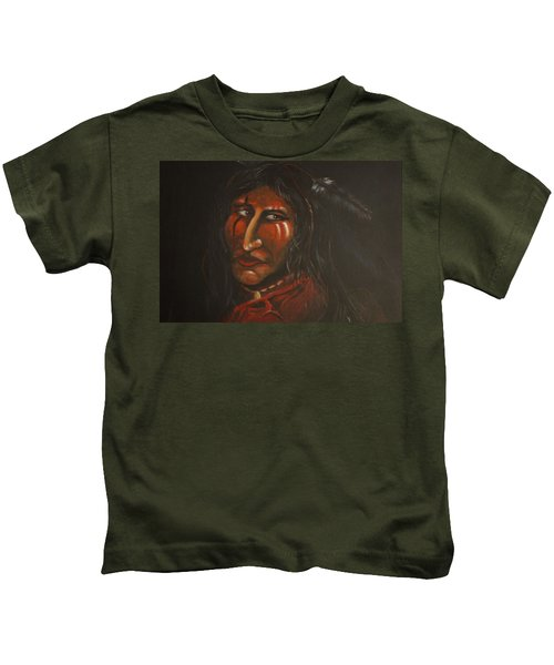 Suspicion Or Uncertainty Kids T-Shirt