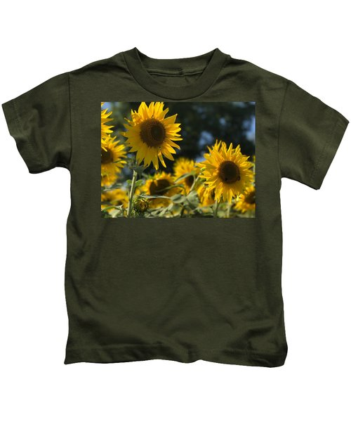 Sweet Sunflowers Kids T-Shirt