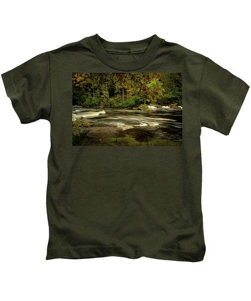 Swirling River Kids T-Shirt