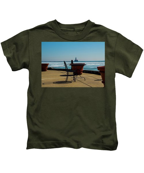 Table For One Kids T-Shirt