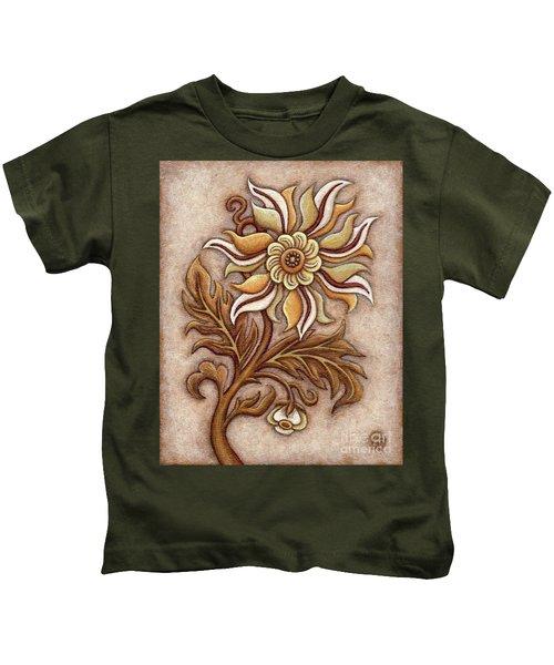 Tapestry Flower 1 Kids T-Shirt