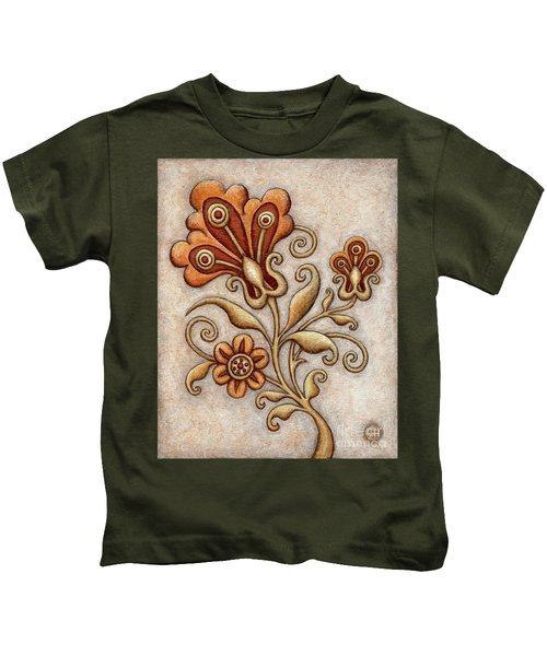 Tapestry Flower 3 Kids T-Shirt