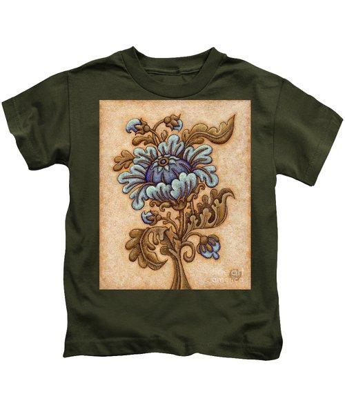 Tapestry Flower 5 Kids T-Shirt