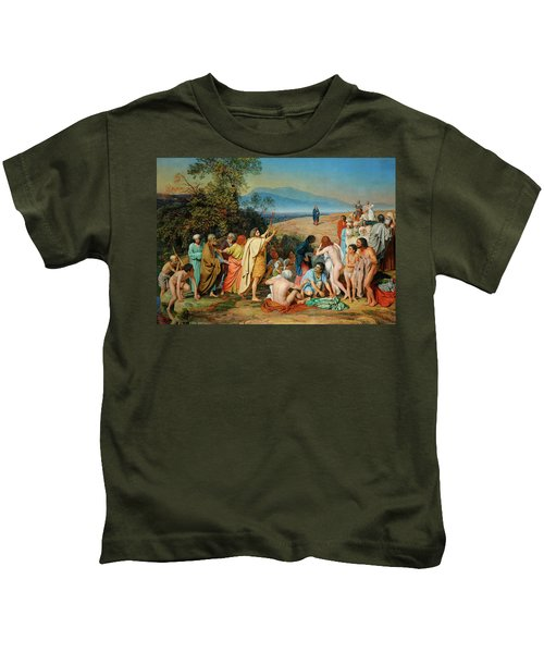 The Appearance Of Christ Before The People Kids T-Shirt