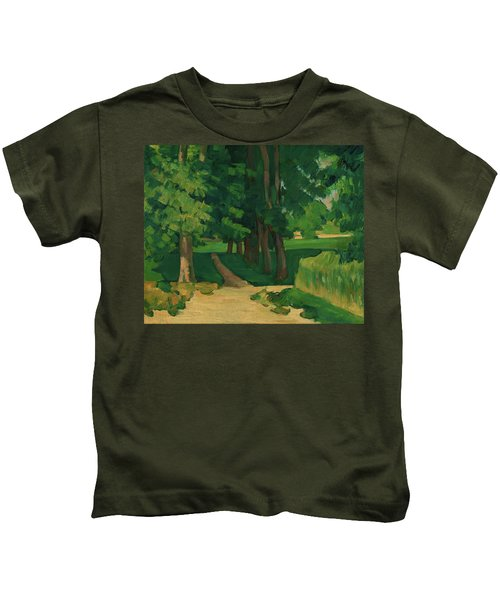 The Avenue At The Jas De Bouffan - Digital Remastered Edition Kids T-Shirt
