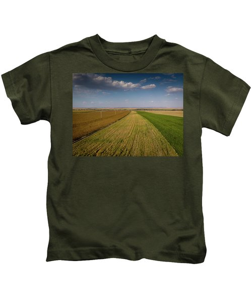 The Colored Fields Kids T-Shirt