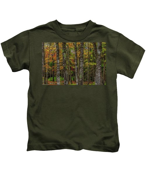 The Fall Woods Kids T-Shirt