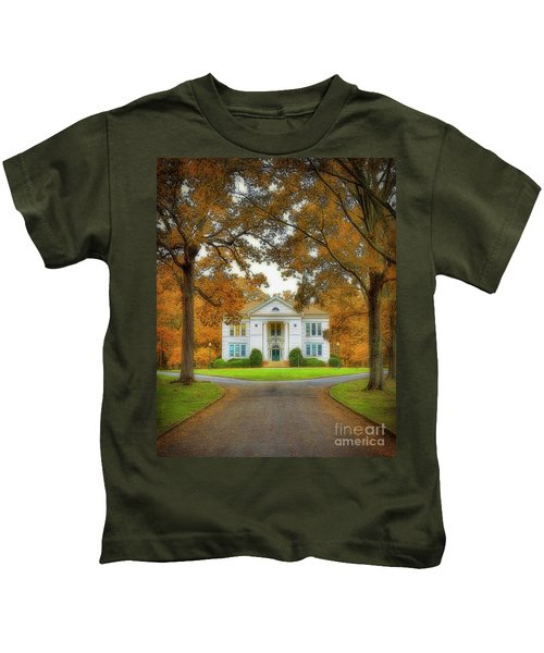 The Hoge Building At Berry College Kids T-Shirt