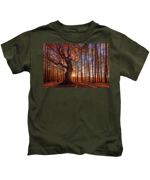 The King Of The Trees Kids T-Shirt