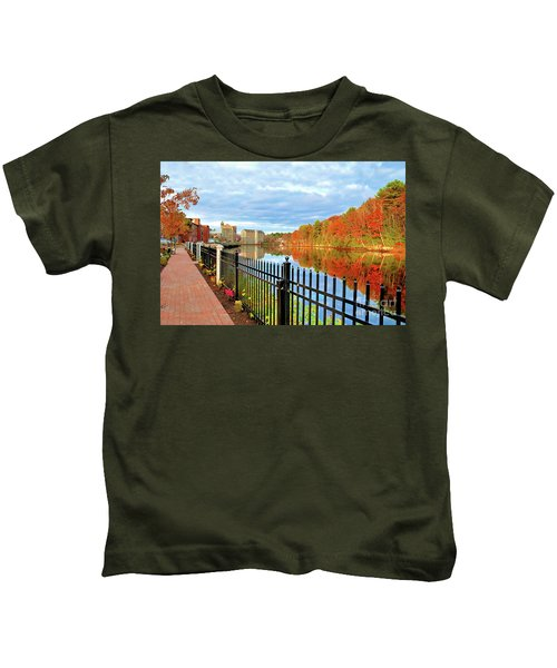 The Lamprey River Kids T-Shirt
